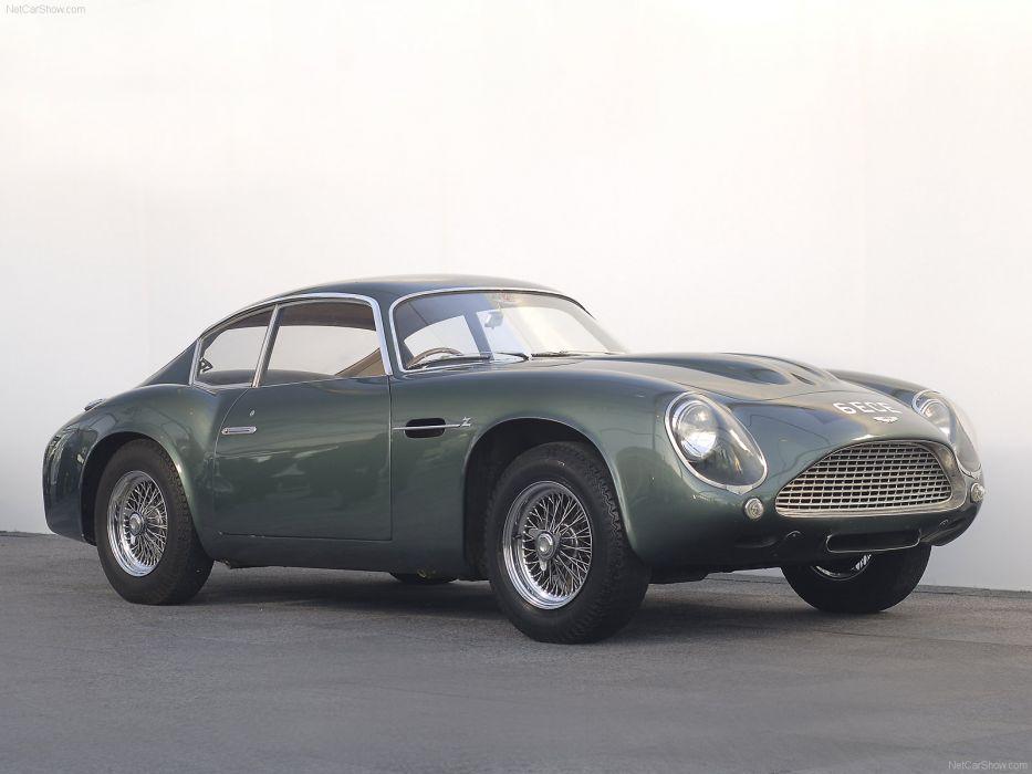 Aston Martin DB4 GT Zagato 1961 wallpaper