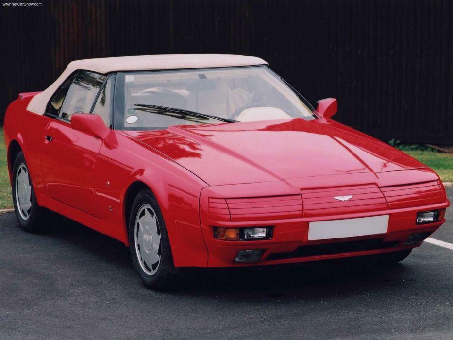 Aston Martin V8 Zagato Volante 1987 wallpaper