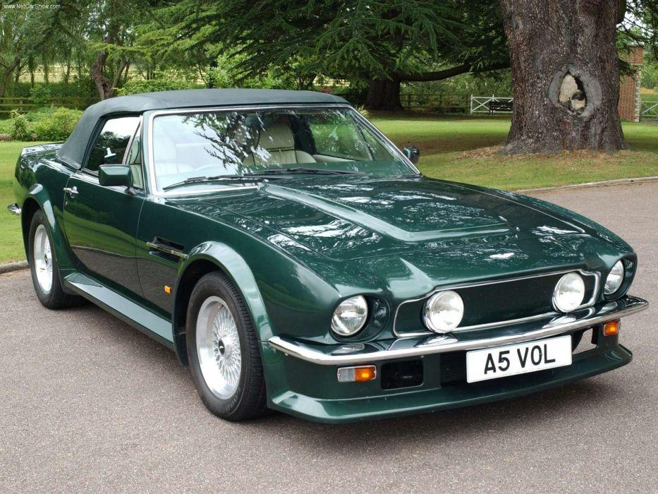 Aston Martin V8 Vantage Volante 1986 wallpaper