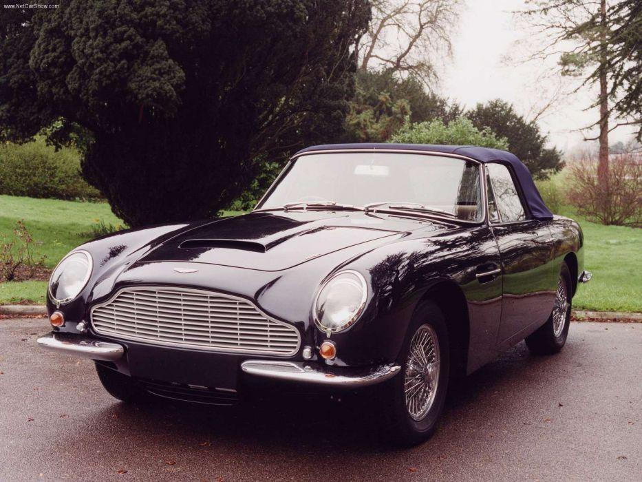 Aston Martin DB6 Volante 1966 wallpaper