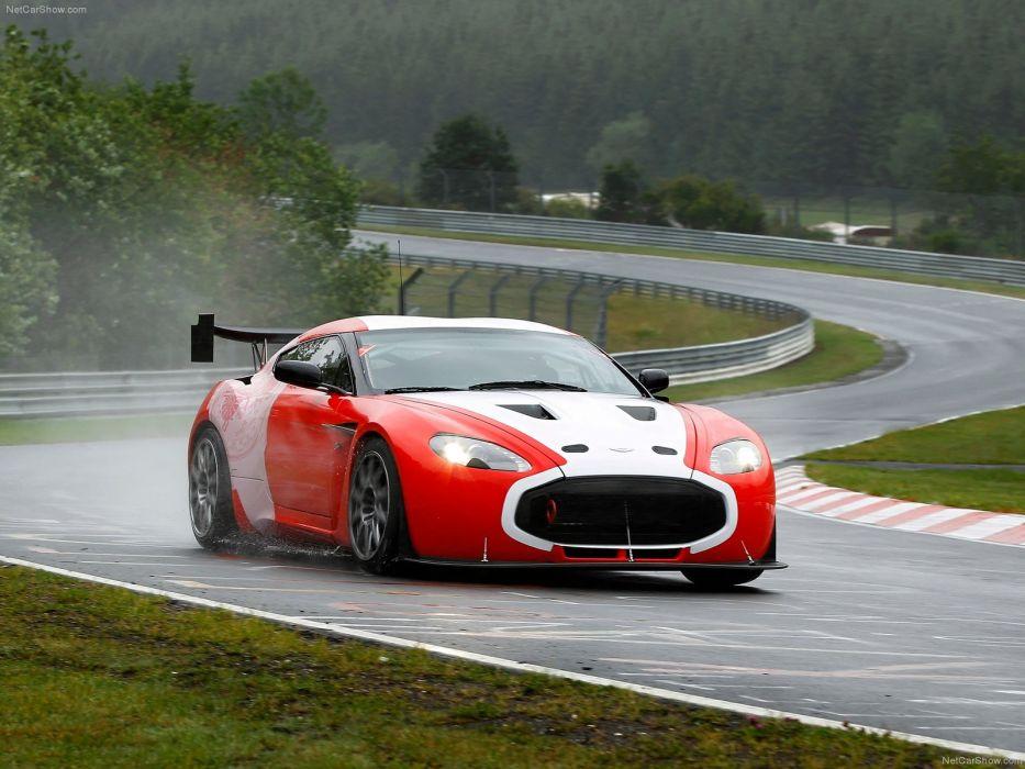 Aston Martin V12 Zagato Racecar 2011 wallpaper