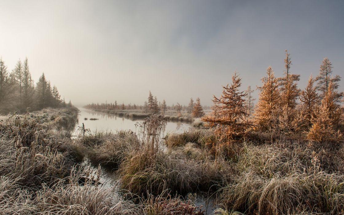 nature lake landscape reflection national geographic fog ultrahd 4k wallpaper wallpaper