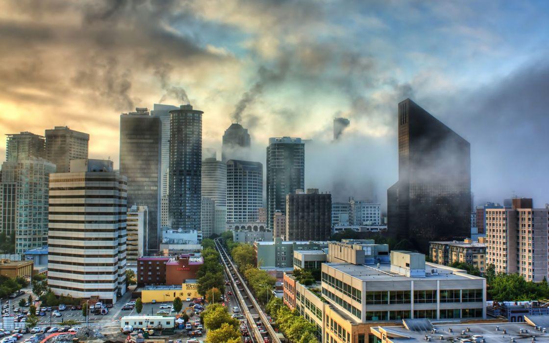 nature city landscape reflection fog national geographic ultrahd 4k wallpaper wallpaper