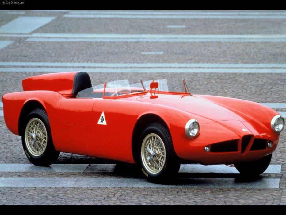 Alfa Romeo 750 Competizione 1955 wallpaper