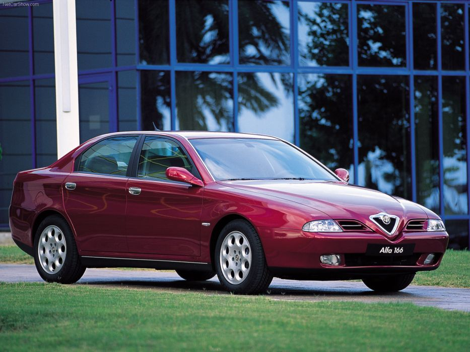 Alfa Romeo 166 1998 wallpaper