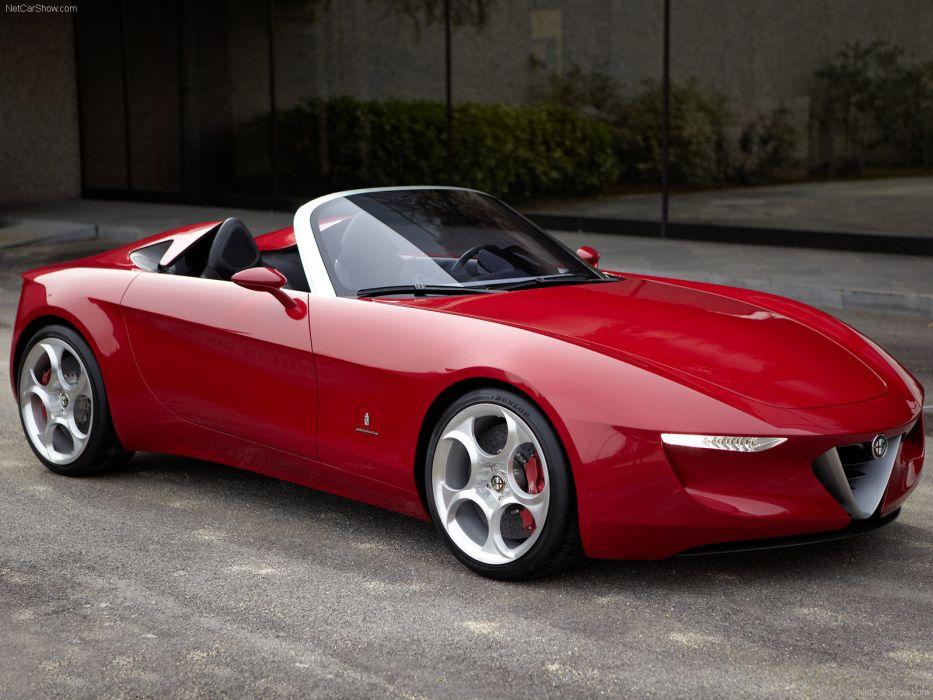 Alfa Romeo 2uettottanta Concept 2010 wallpaper
