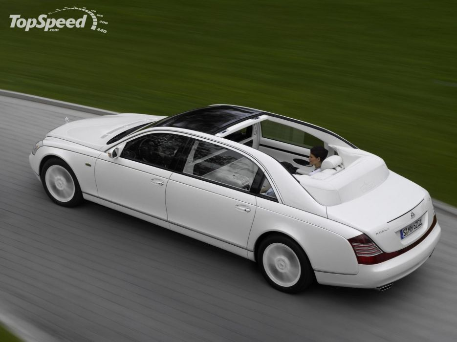 Maybach Landaulet 2009 (Atras) wallpaper