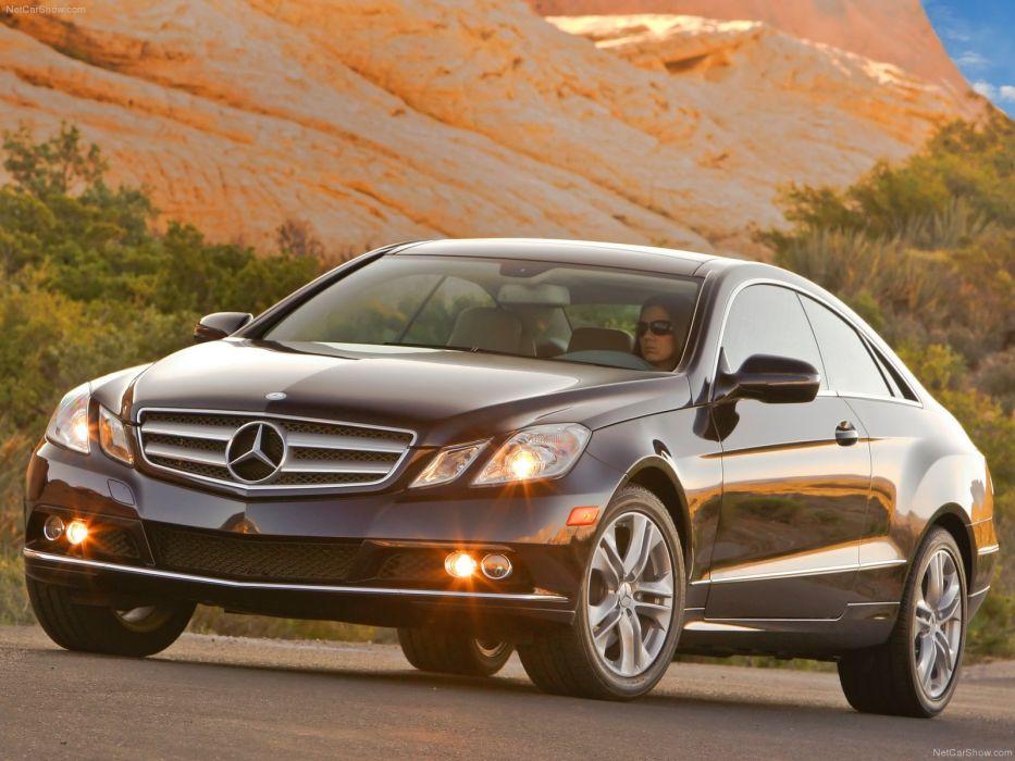 Mercedes-Benz E350 Coupe 2010 wallpaper
