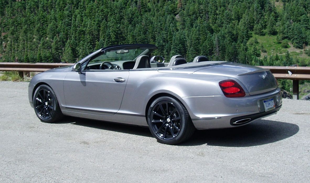 Bentley Continental Supersports Convertible wallpaper