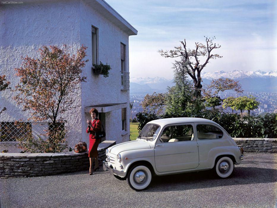 Fiat 600 1955 wallpaper
