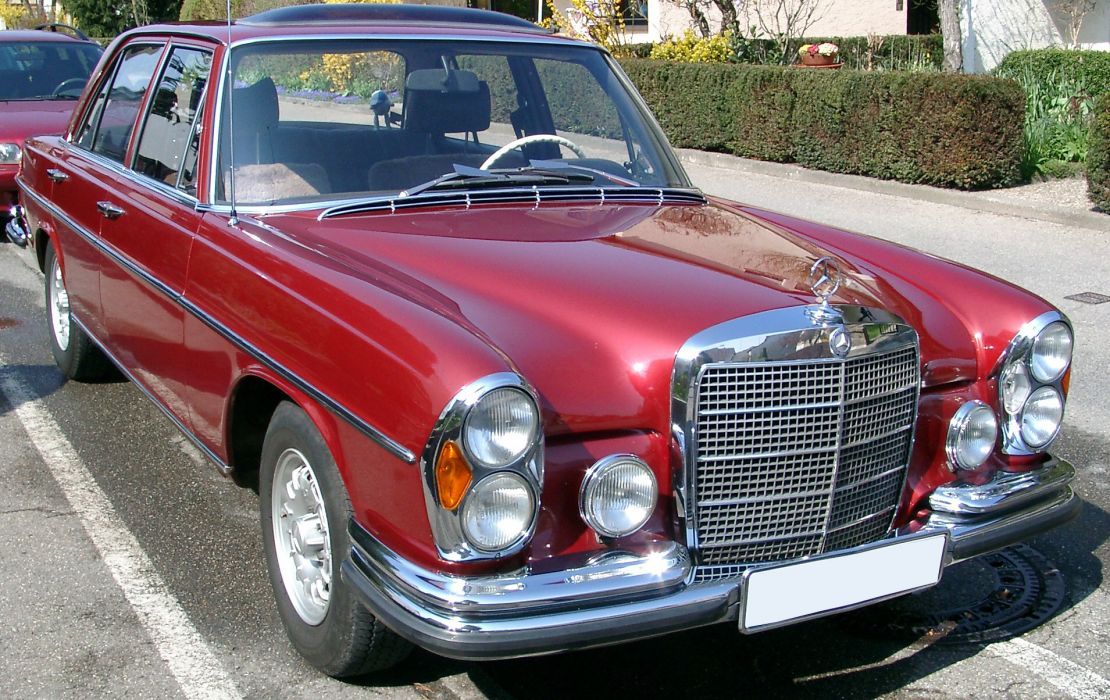 Mercedes Benz W108 wallpaper
