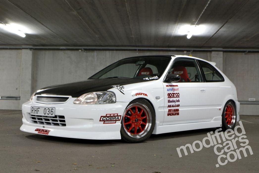 Honda Civic VTi wallpaper