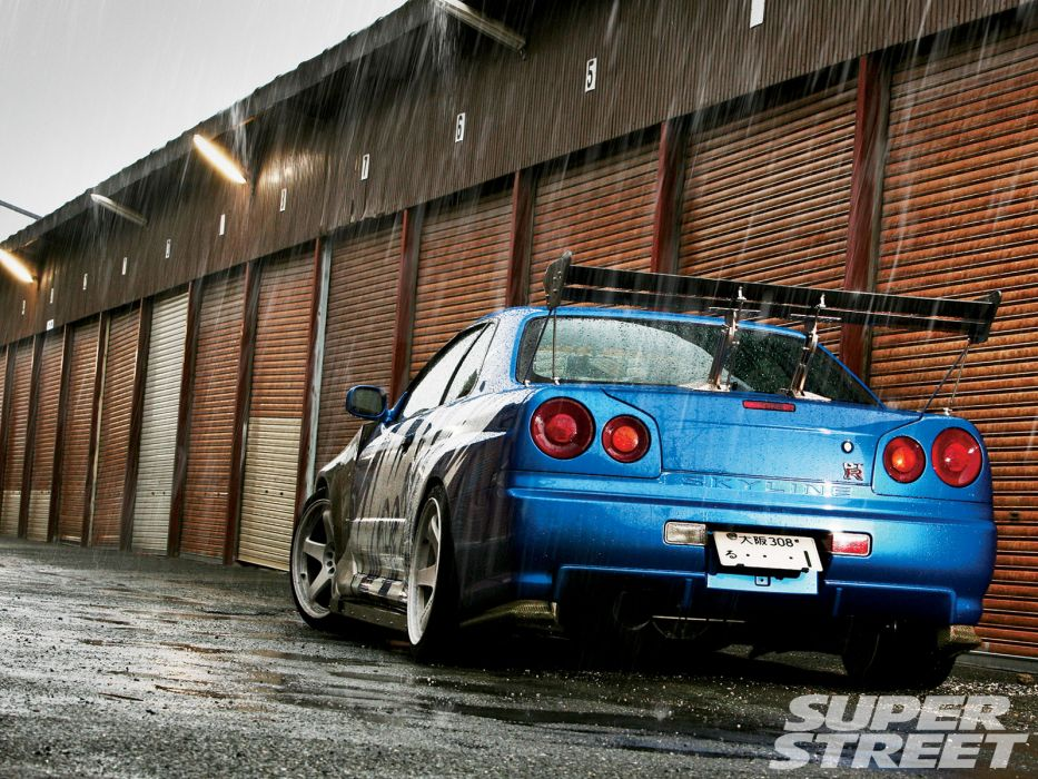 Nissan Skyline GTR R34 wallpaper