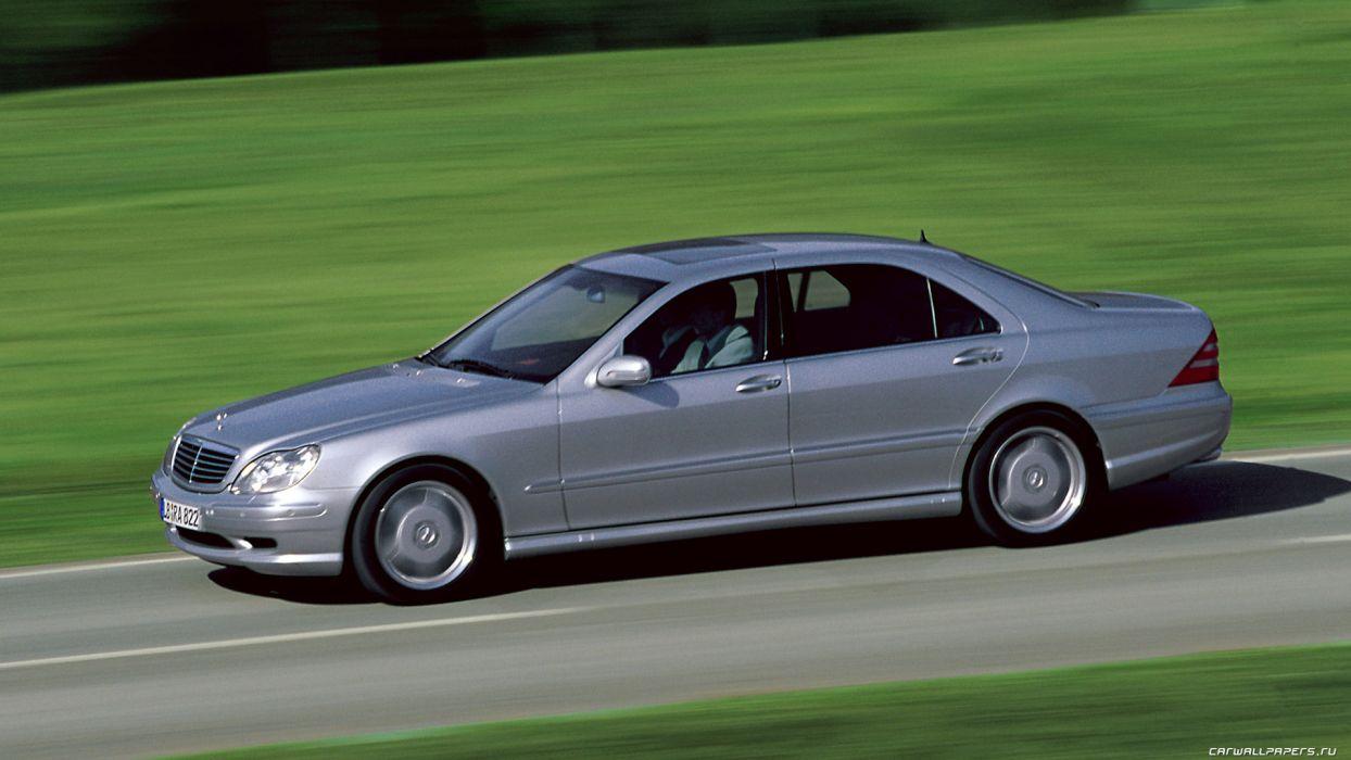 Mercedes-Benz S55 AMG 2000 wallpaper
