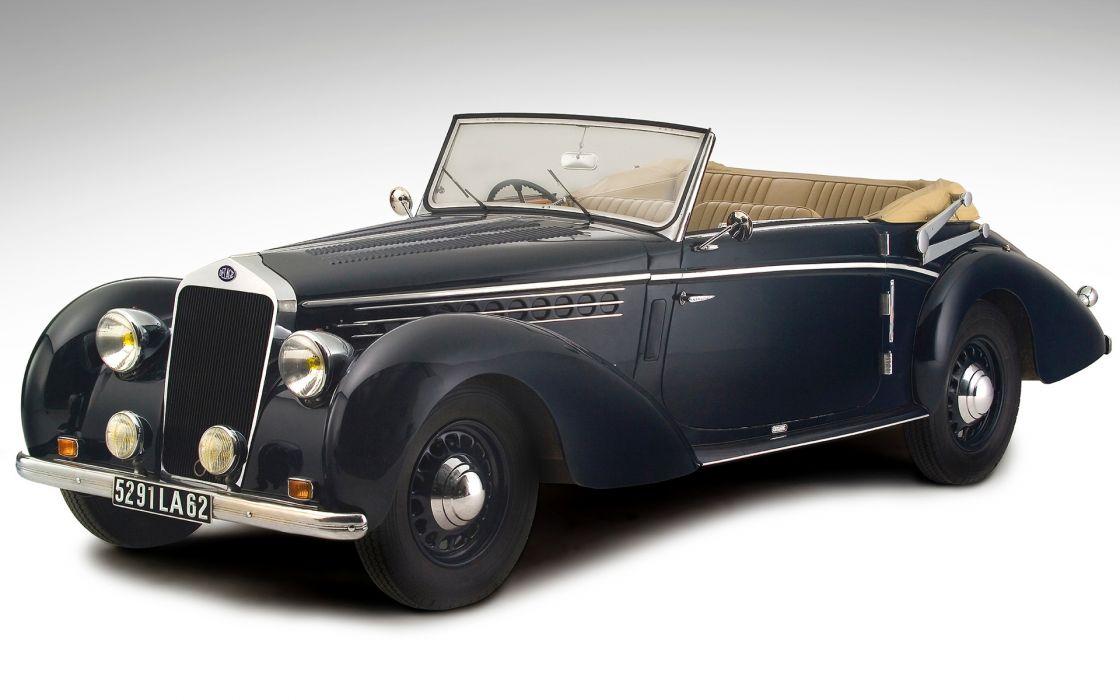 Delage D6-70 Cabriolet 1938 wallpaper