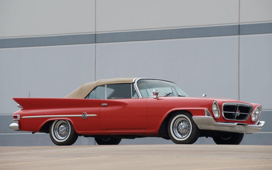Chrysler 300G Convertible 1961 wallpaper