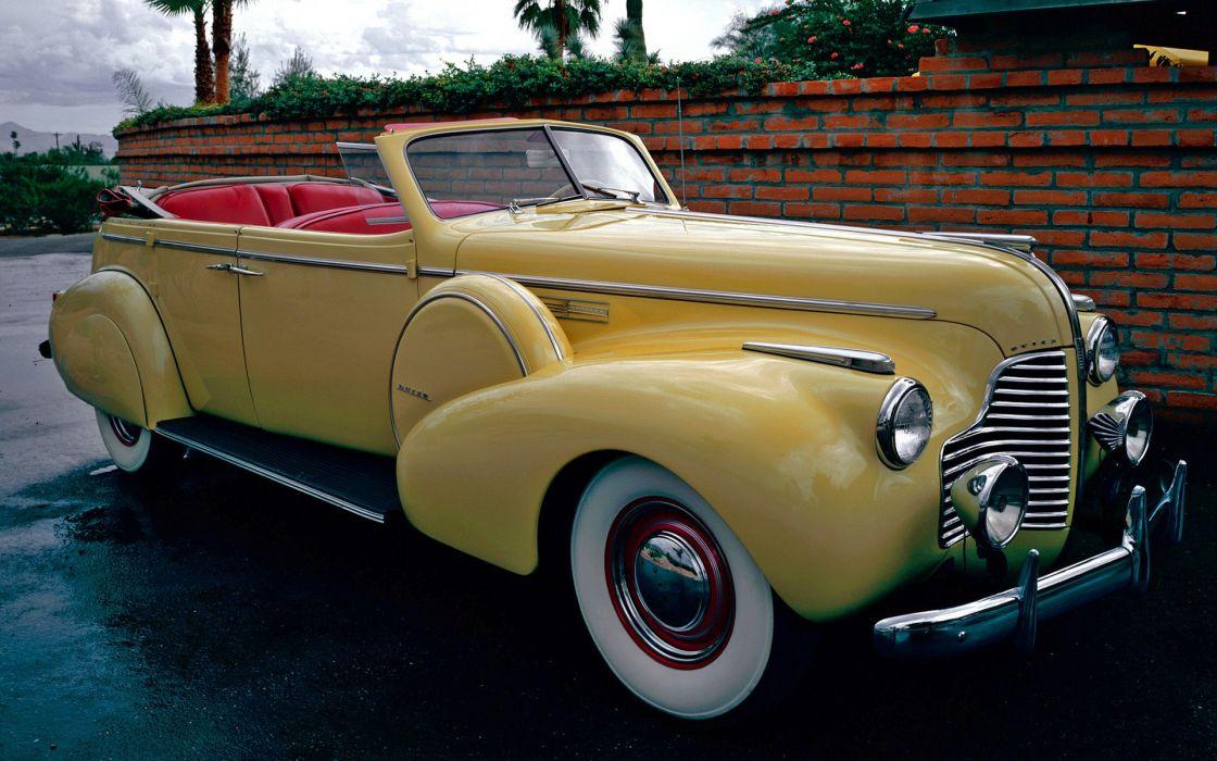 Buick Limited Sport Phaeton (80C) 1940 wallpaper