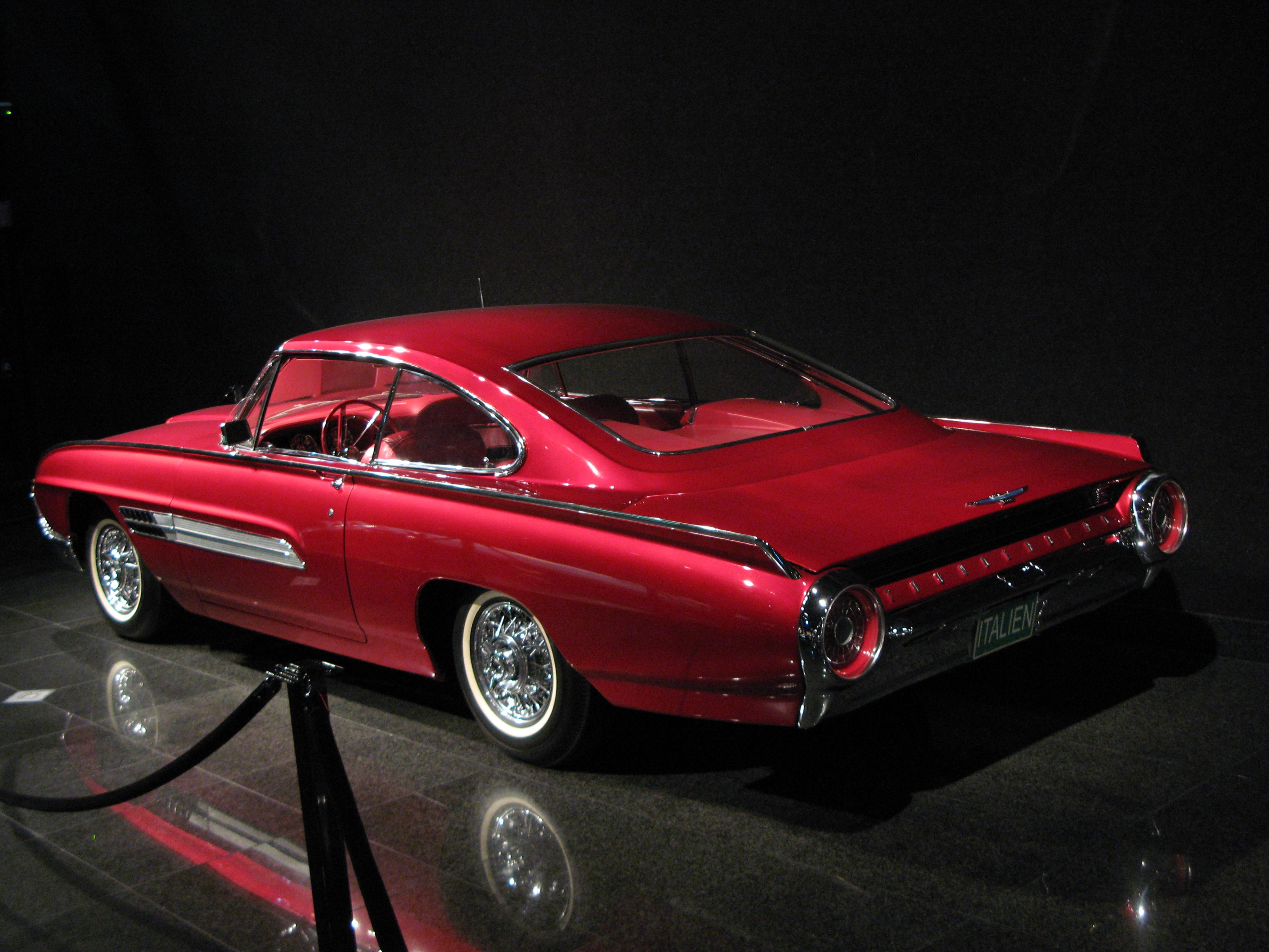 Ford ThunderBird Italien 1964 JPG Wallpaper