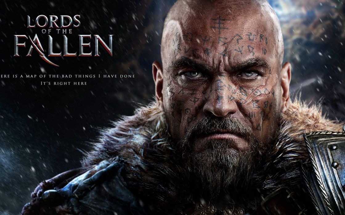LORDS OF THE FALLEN fantasy warrior poster    g wallpaper