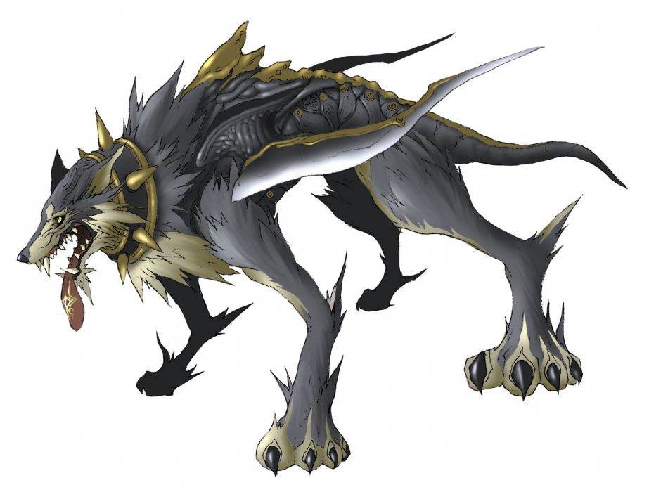 PANDORAS TOWER fantasy anime monster wolf wolves     d wallpaper