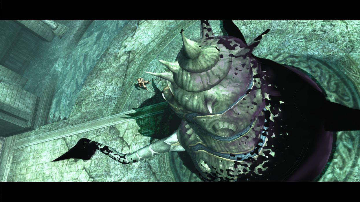 PANDORAS TOWER fantasy anime warrior monster   d wallpaper