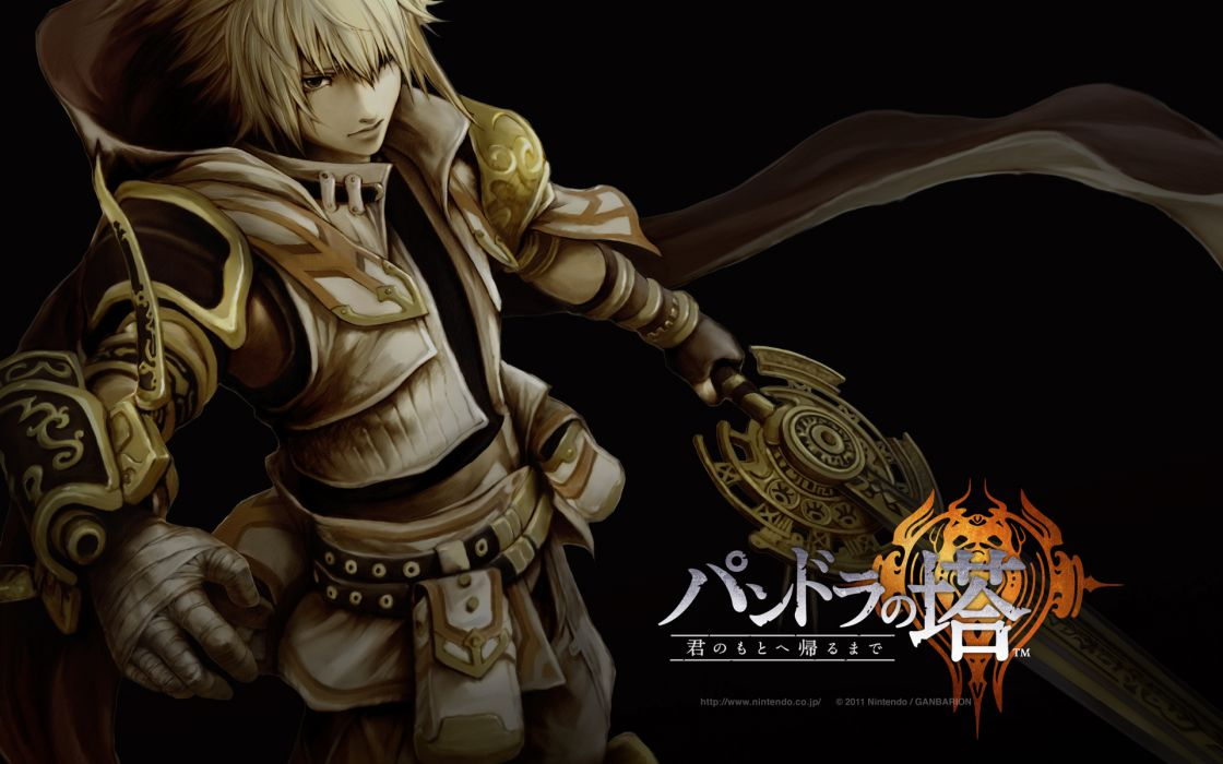 PANDORAS TOWER fantasy anime warrior poster  y wallpaper