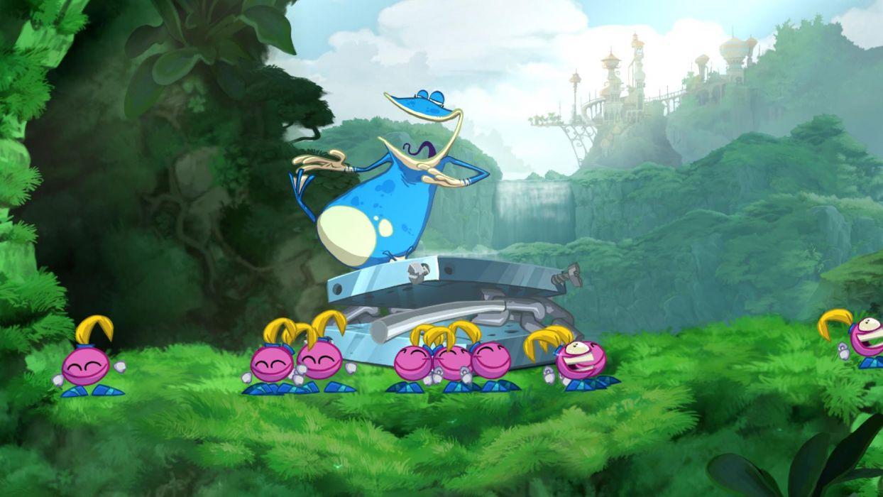 RAYMAN ORIGINS adventure game (5) wallpaper