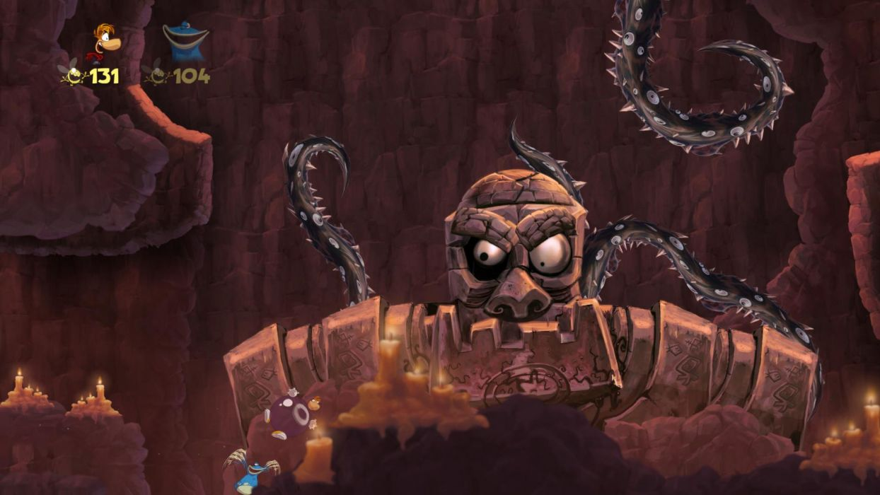 RAYMAN ORIGINS adventure game (10) wallpaper