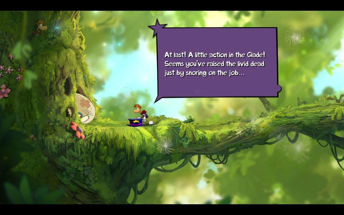 RAYMAN ORIGINS adventure game (13) wallpaper