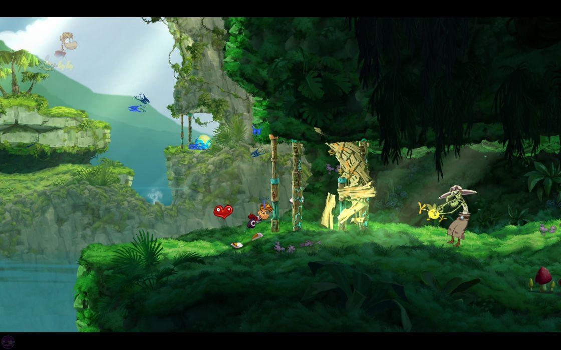 RAYMAN ORIGINS adventure game (19) wallpaper
