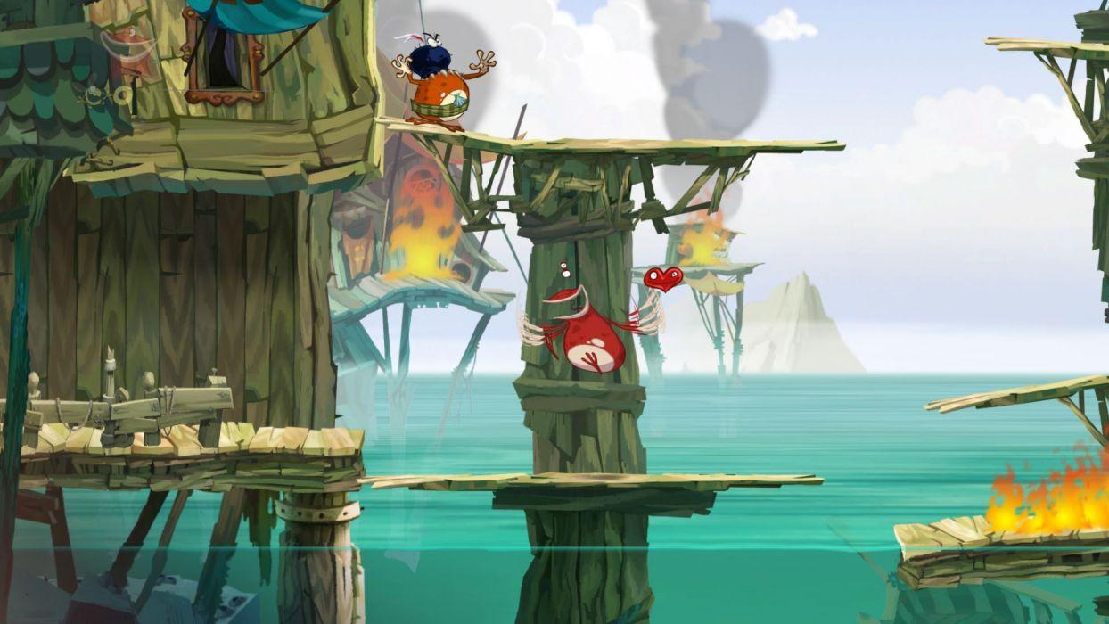 RAYMAN ORIGINS adventure game (28) wallpaper
