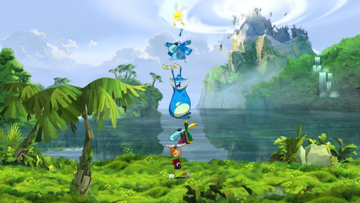 RAYMAN ORIGINS adventure game (31) wallpaper