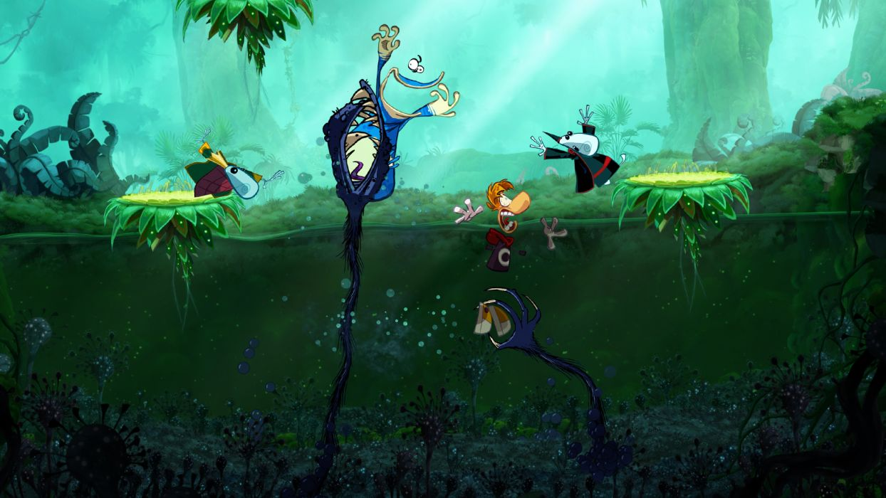 RAYMAN ORIGINS adventure game (34) wallpaper