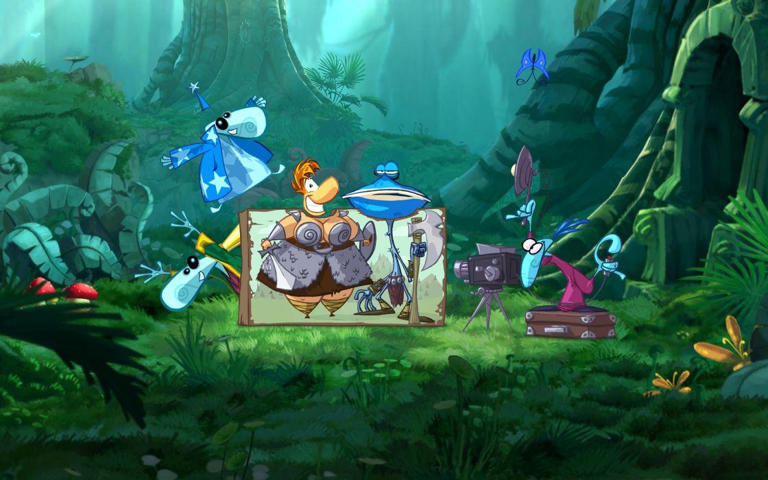 RAYMAN ORIGINS adventure game (35) wallpaper