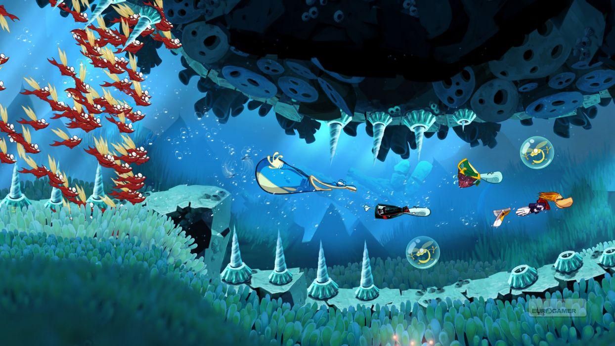 RAYMAN ORIGINS adventure game (38) wallpaper