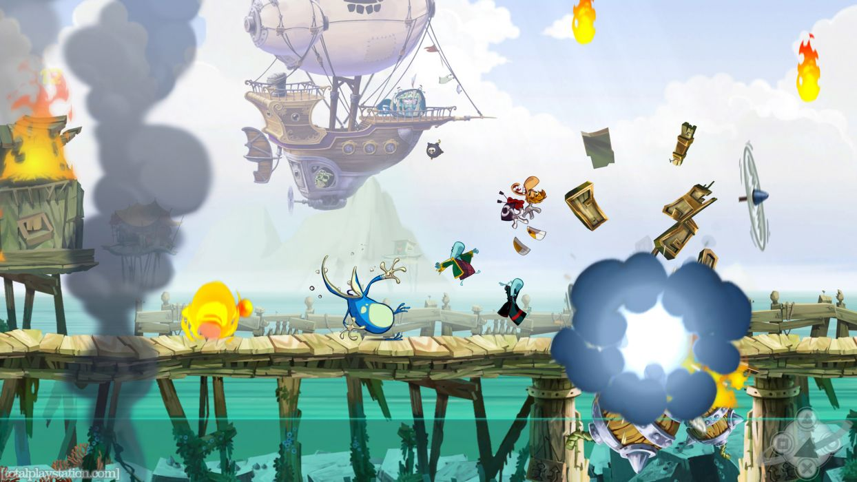 RAYMAN ORIGINS adventure game (41) wallpaper