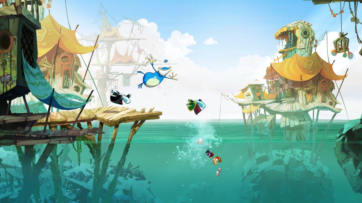 RAYMAN ORIGINS adventure game (43) wallpaper