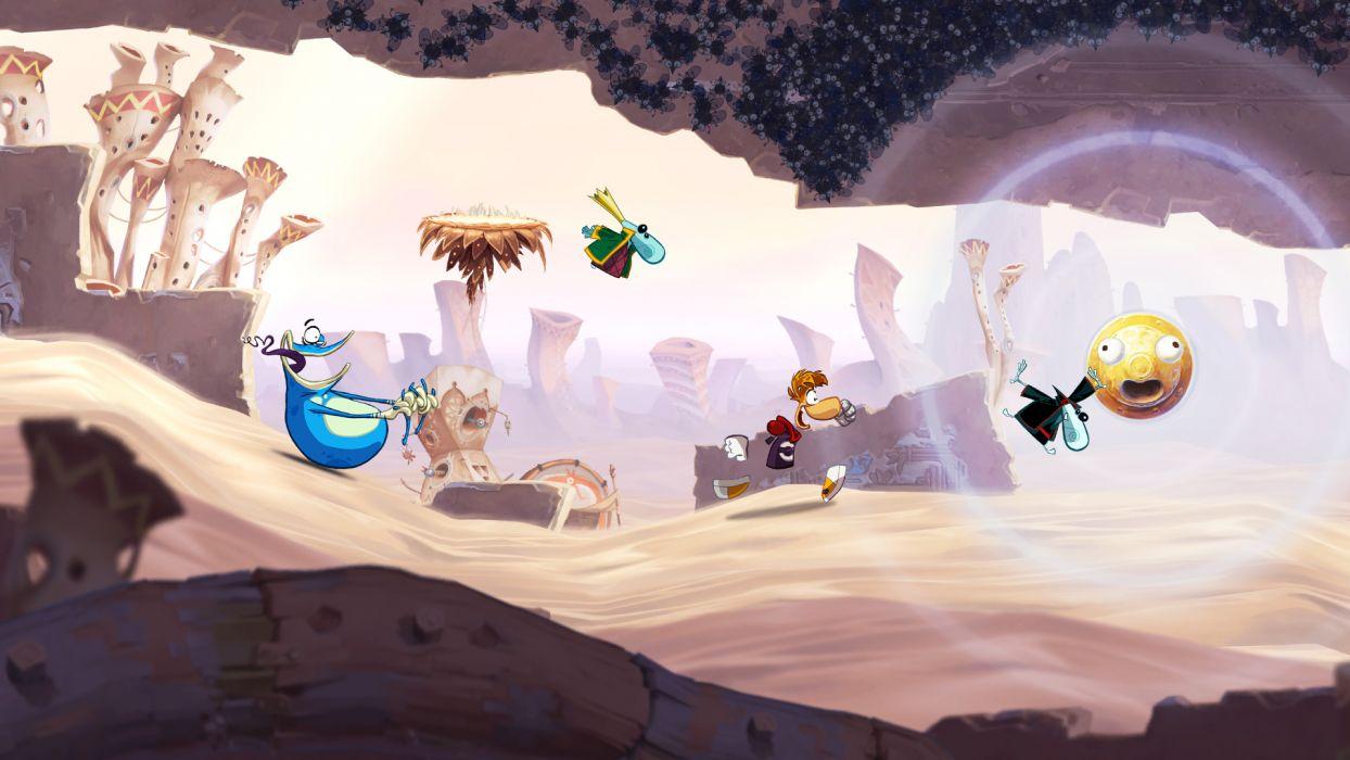 RAYMAN ORIGINS adventure game (44) wallpaper