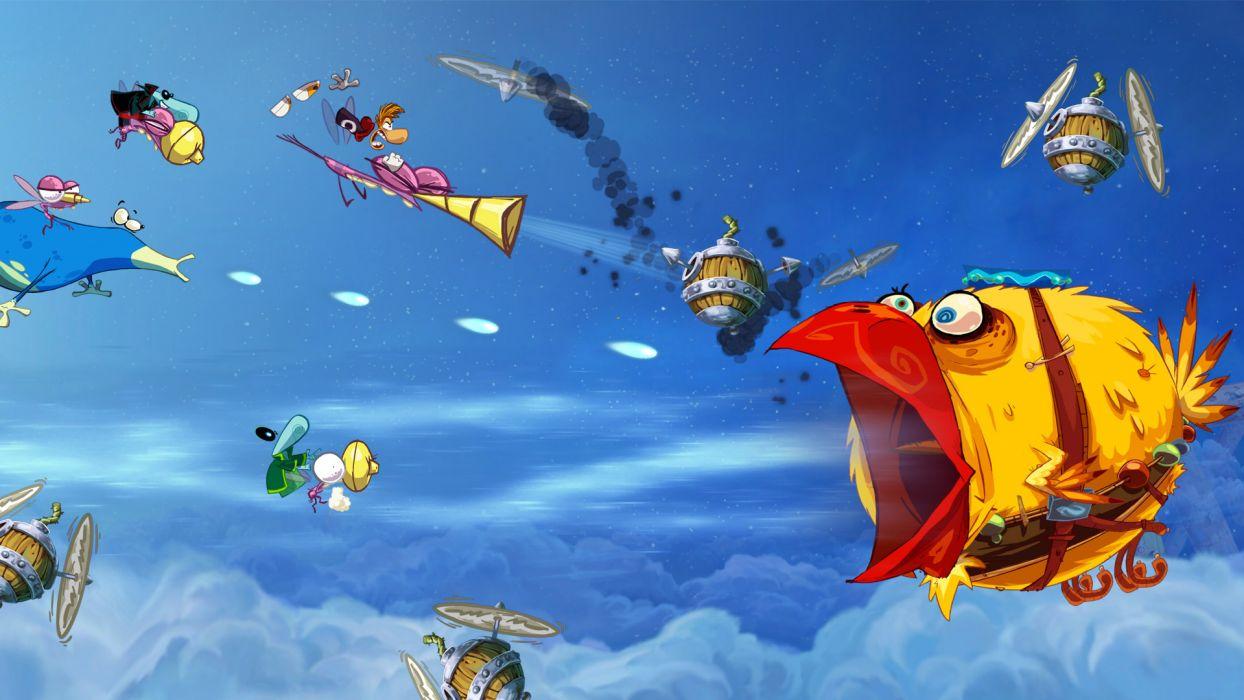 RAYMAN ORIGINS adventure game (46) wallpaper