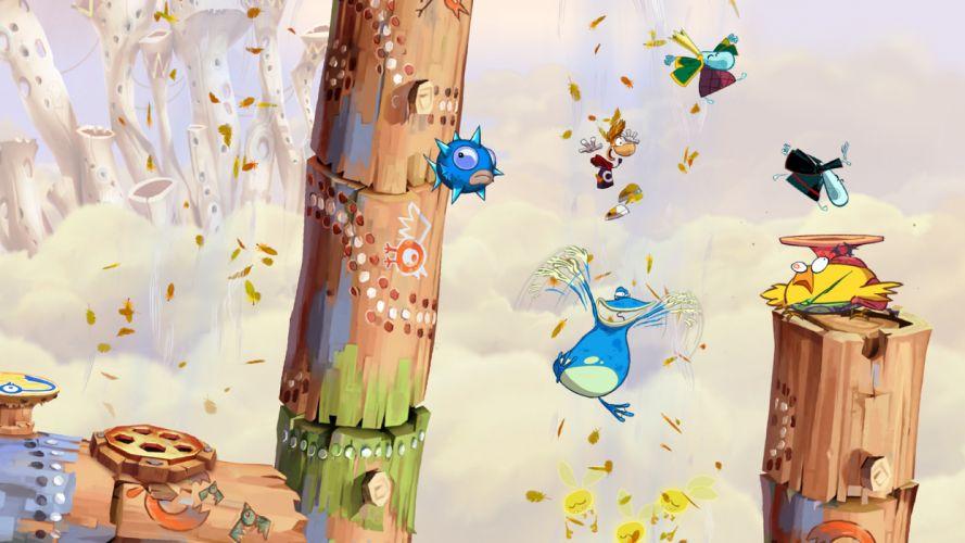 RAYMAN ORIGINS adventure game (49) wallpaper