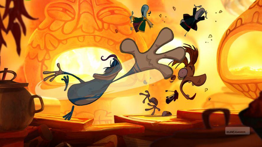 RAYMAN ORIGINS adventure game (53) wallpaper
