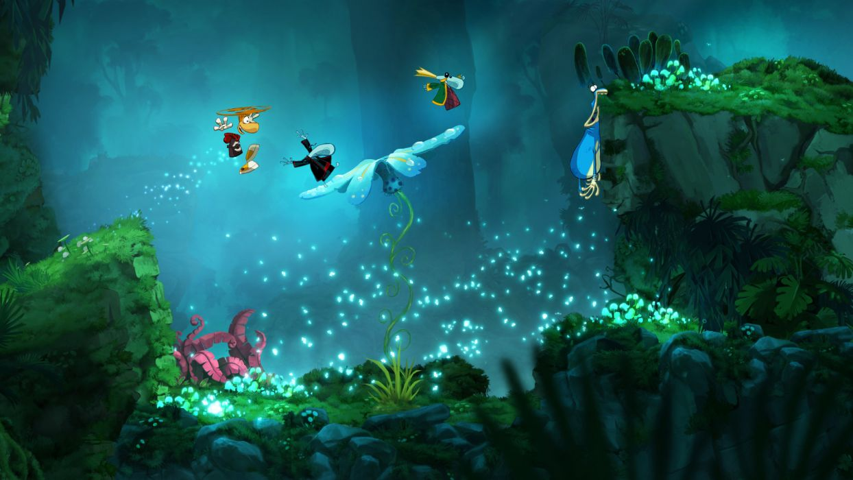 RAYMAN ORIGINS adventure game (54) wallpaper