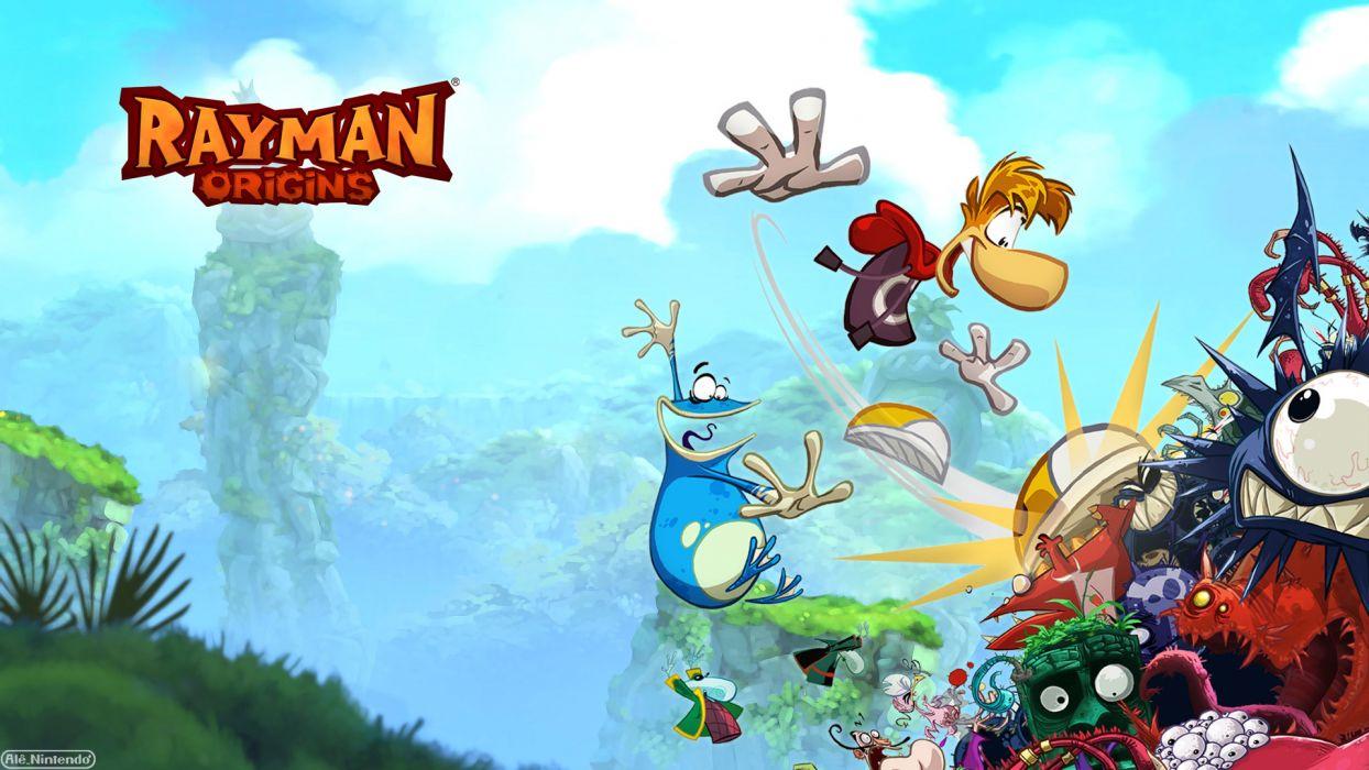 RAYMAN ORIGINS adventure game (60) wallpaper
