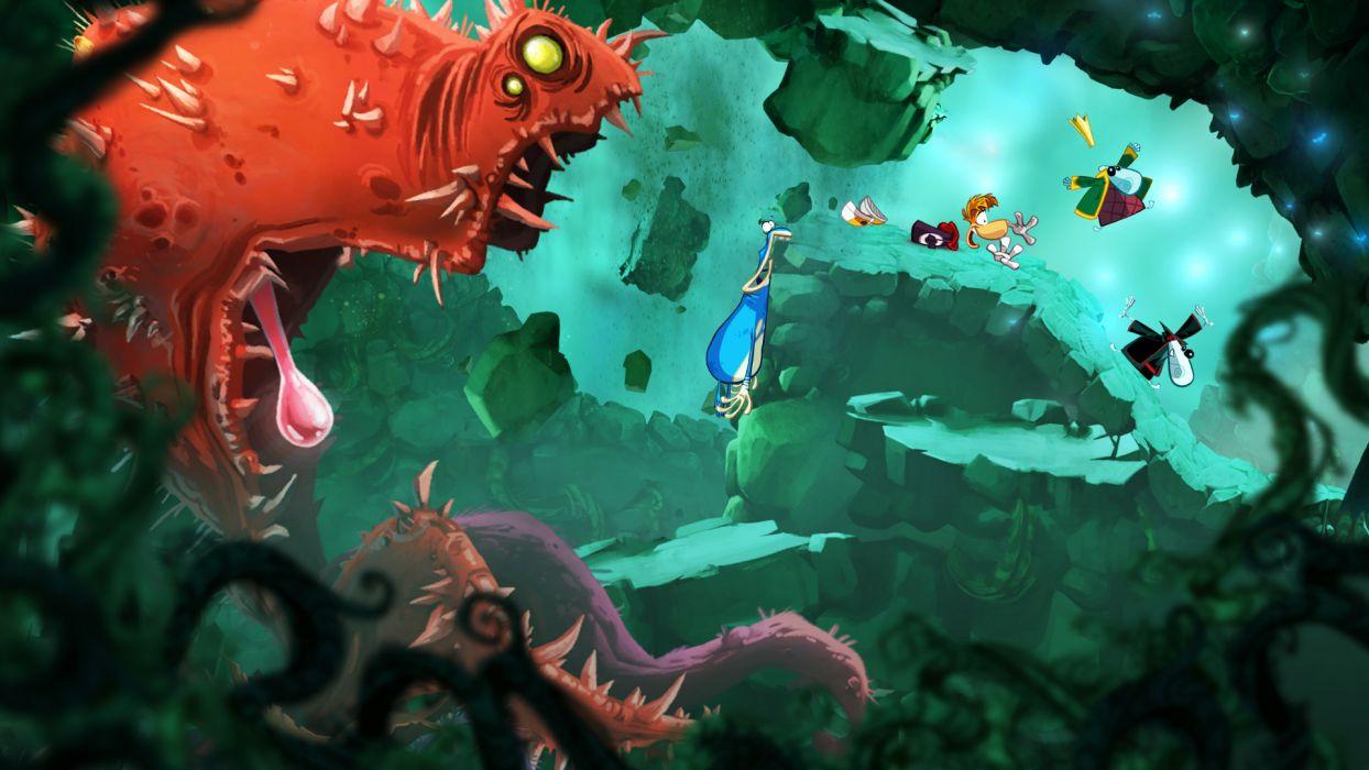 RAYMAN ORIGINS adventure game (61) wallpaper