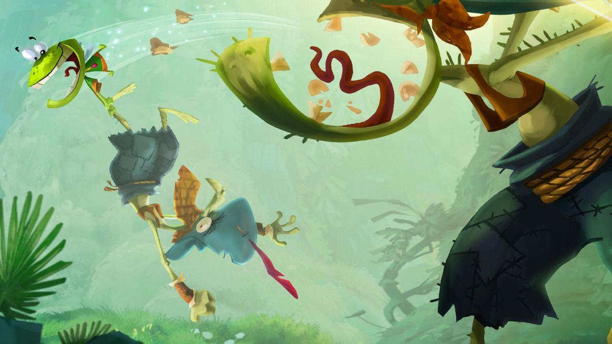 RAYMAN ORIGINS adventure game (64) wallpaper