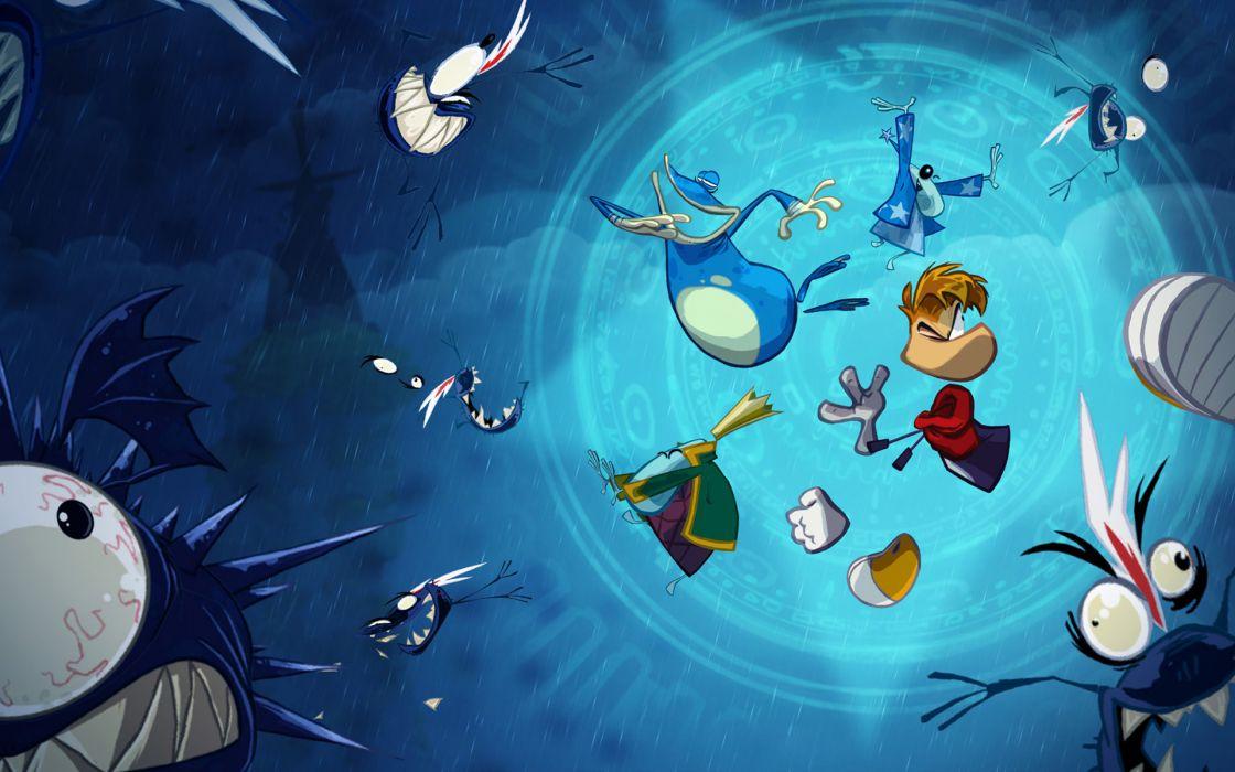 RAYMAN ORIGINS adventure game (67) wallpaper