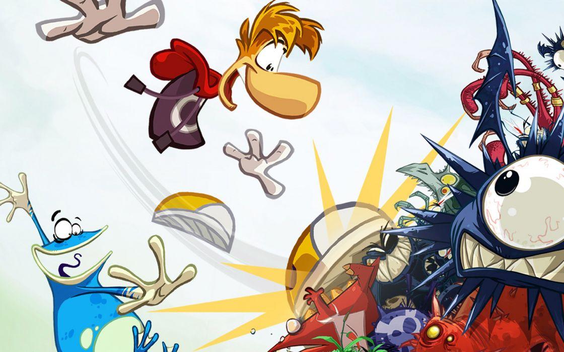 RAYMAN ORIGINS adventure game (69) wallpaper