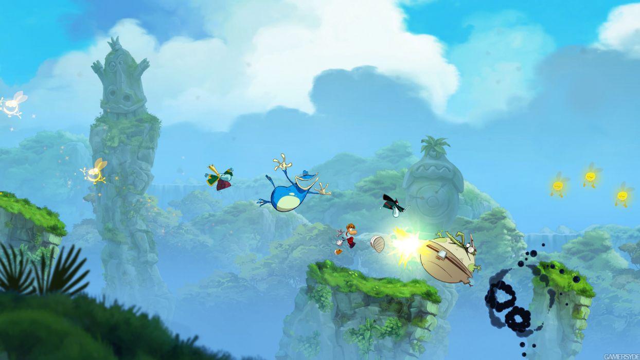 RAYMAN ORIGINS adventure game (85) wallpaper