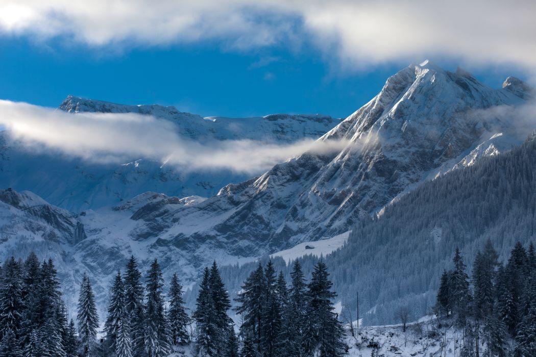 Switzerland mountains landscape wallpaper