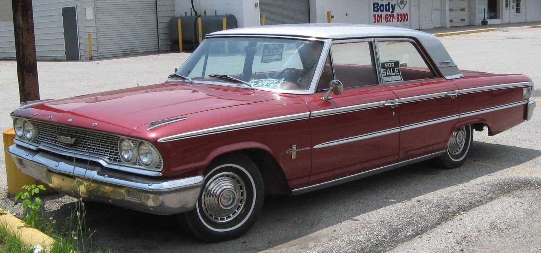Ford Galaxie Sedan 1963 wallpaper